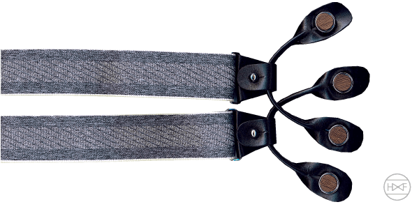 hoenträger stretch schwarz grau
