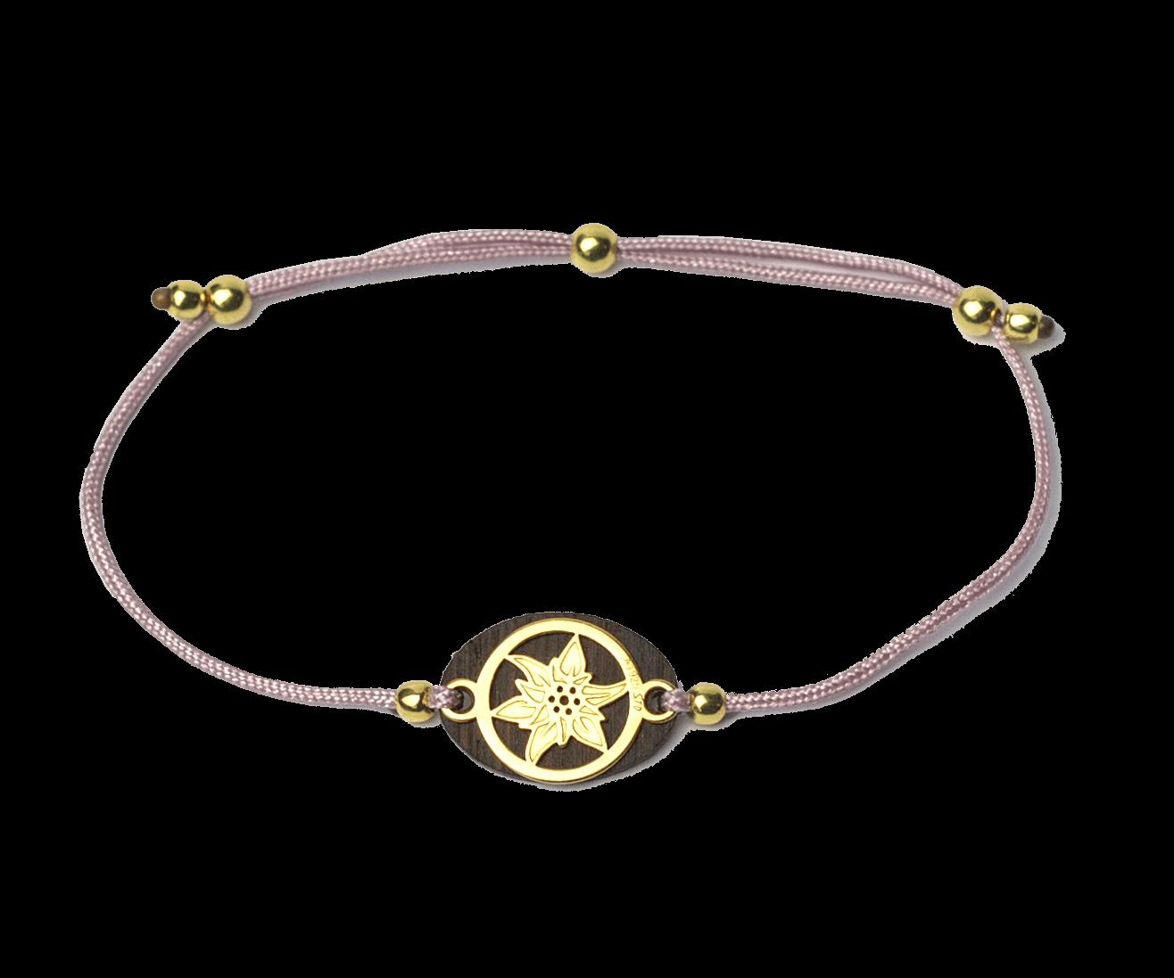 Armband-Produkt-Gold-flieder-edelweiß